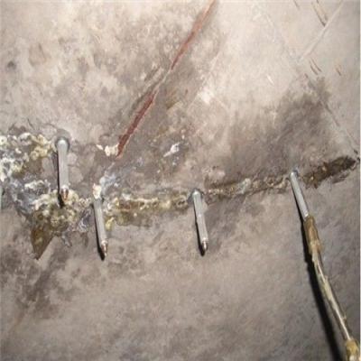 裂缝注浆加固