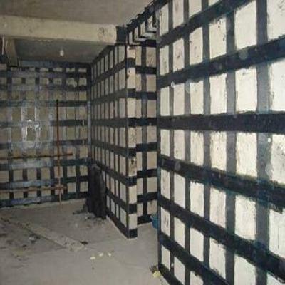 混凝土剪力墙碳纤维加固