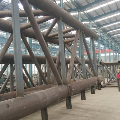 武汉钢结构管桁架工程