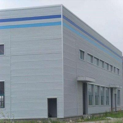 武汉化工厂钢结构厂房车间