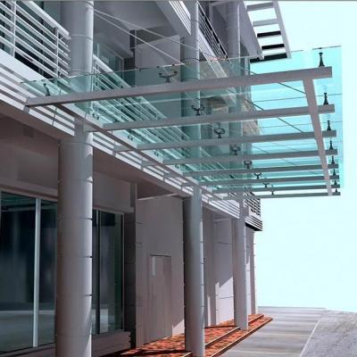 钢结构雨棚多少钱一平方