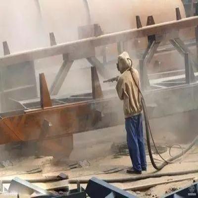 钢结构厂房生锈除锈