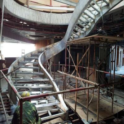 旋转楼梯加工安装