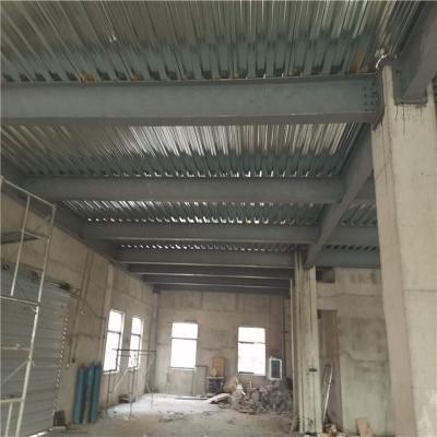 武汉市黄陂区横店西街云辅材公司仓库钢结构隔层